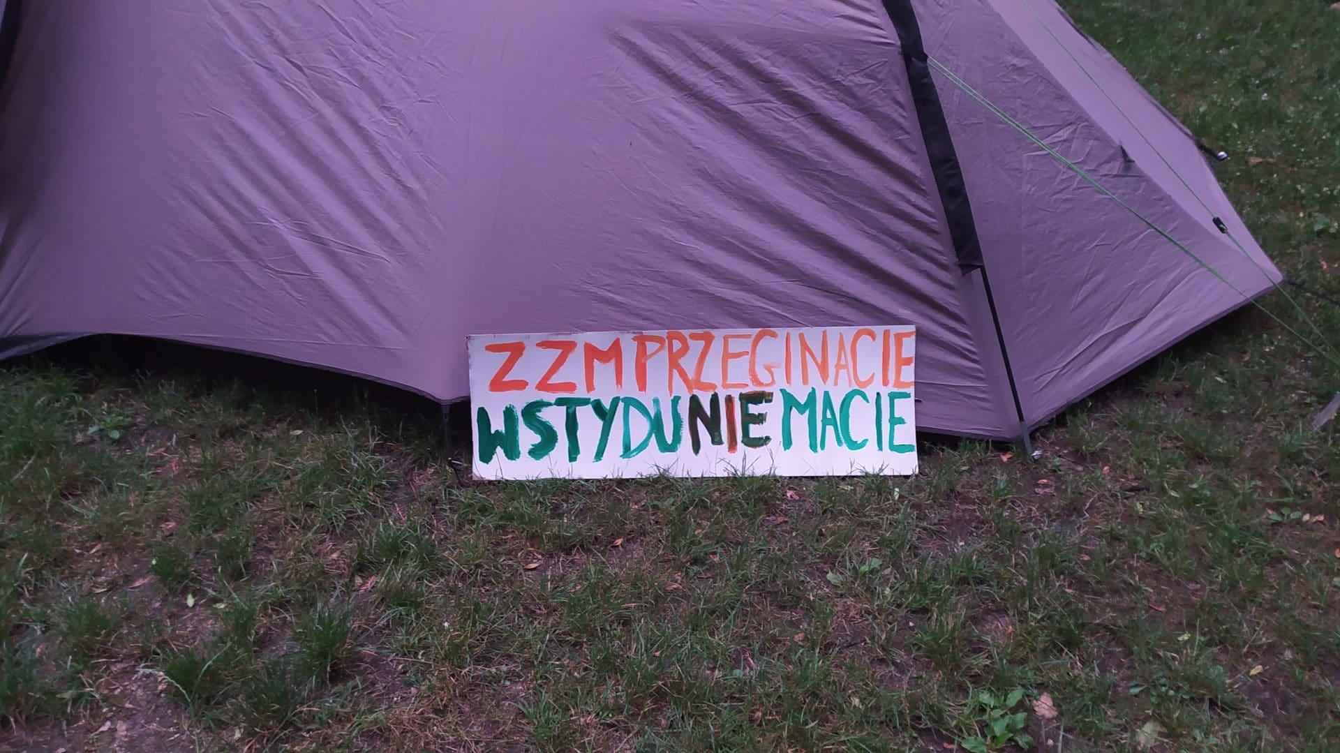Zarząd zieleni miejskiej w Krakowie.