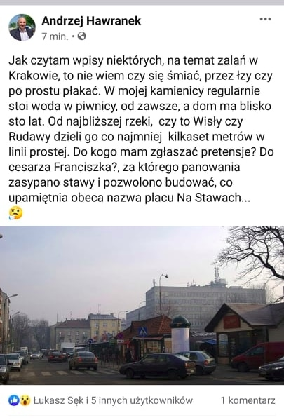 Ekipa Jacka Majchrowskiego Andrzej Hawranek