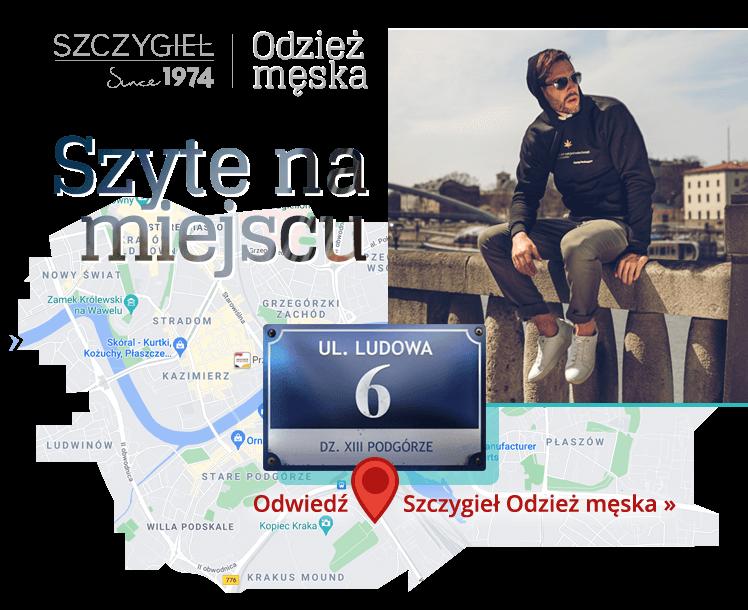 Odzież Męska Kraków