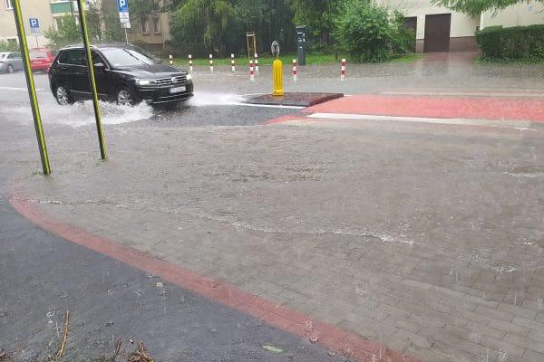 Deszcze nawalne Kraków
