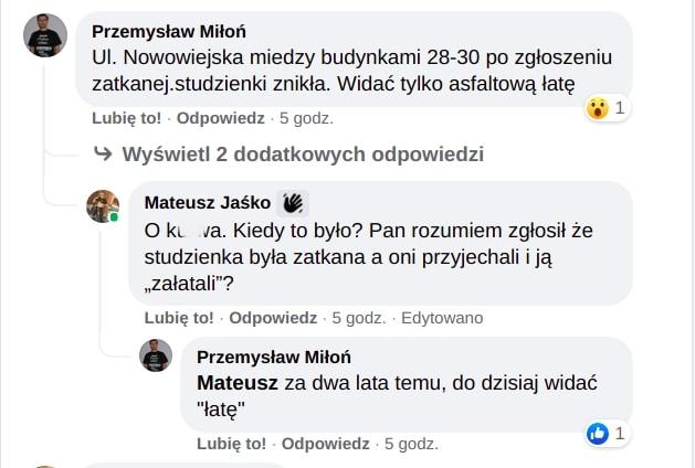 Krakowianie dyskutują w internecie o utrzymaniu systemu kanalizacji w Krakowie.