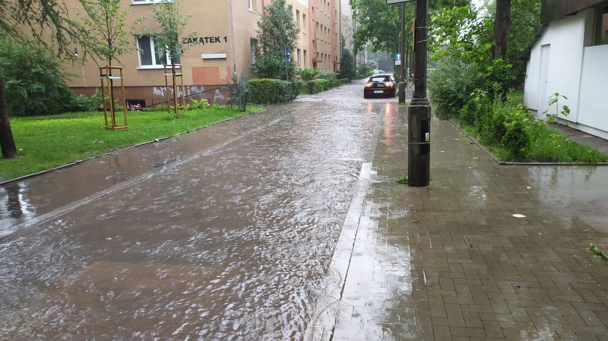 Ulica Zakątek Kraków