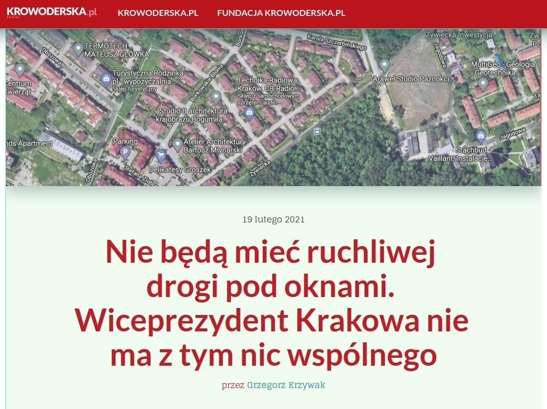 Borek Kraków Bogusław Kośmider Szczerbińskiego