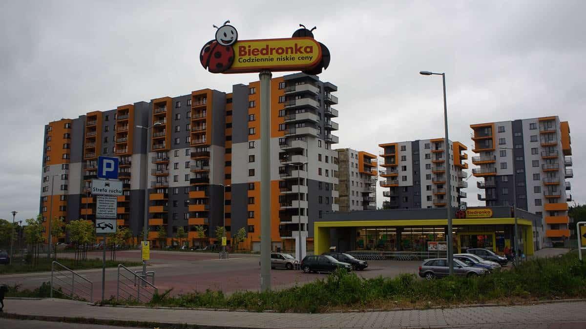 Ulica Polonijna w Krakowie