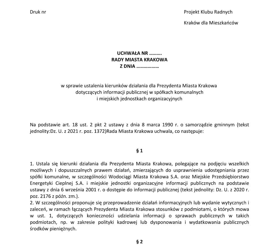 Wodociągi Miasta Krakowa Miejskie Przedsiębiorstwo Energetyki Cieplnej