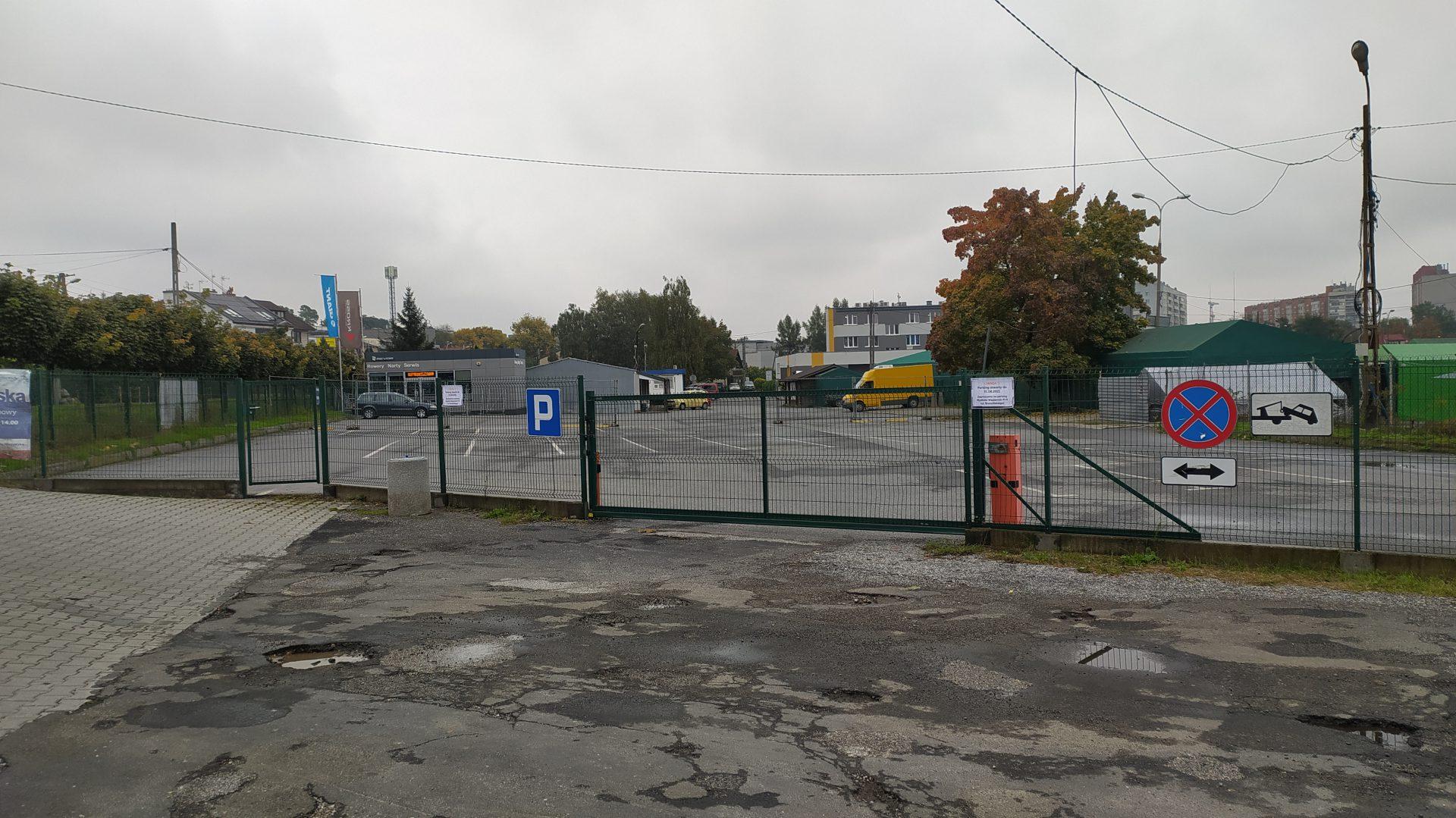 Zlikwidowany Park and Ride w Bronowicach.